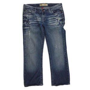 BKE Sabrina Capris Sz 27 Cropped Distressed Jeans